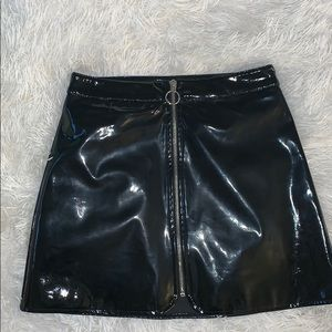 Forever21 Patent leather skirt